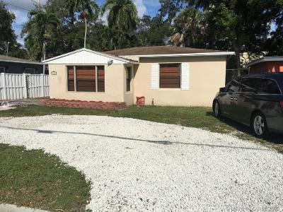 Fort Lauderdale Single Family Home For Sale: 853 SW 12th St