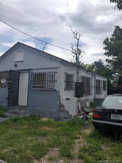 Miami Single Family Home For Sale: 1742 NW 67 St
