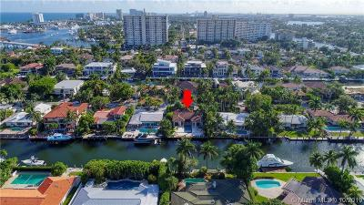 Fort Lauderdale Single Family Home For Sale: 2437 Castilla Isle