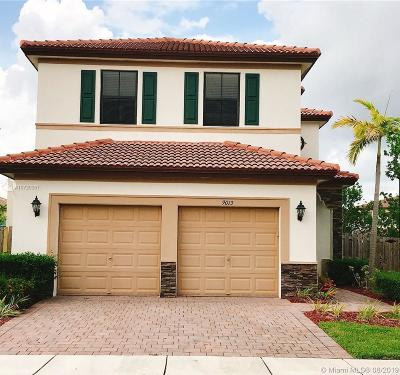 Cutler Bay Single Family Home For Sale: 9013 SW 227th Ln