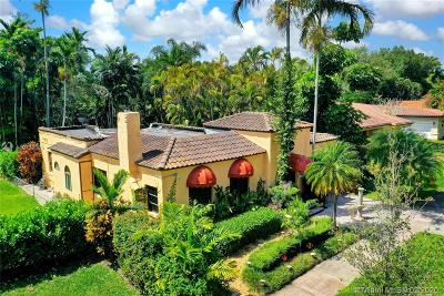 Coral Gables Single Family Home For Sale: 1432 Urbino Ave