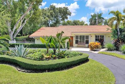 Miami Shores Single Family Home For Sale: 9100 N Bayshore Dr