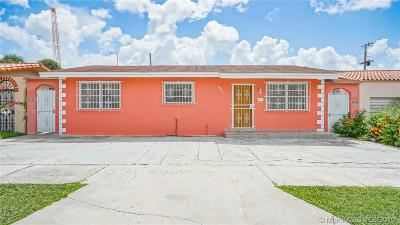 Miami Single Family Home For Sale: 861 NW 17th Ct