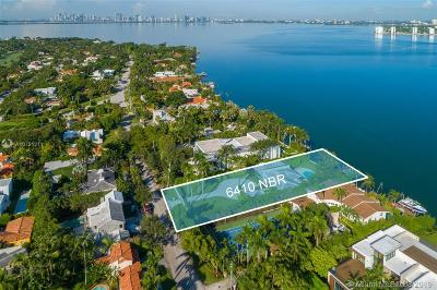 Miami Beach Single Family Home For Sale: 6410 N Bay Rd