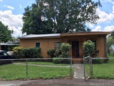 Miami Single Family Home For Sale: 2246 NW 100th St