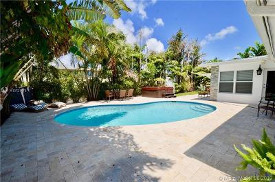 Fort Lauderdale Single Family Home For Sale: 2943 Coral Shores Dr