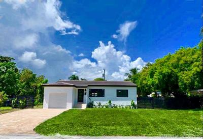 South Miami Single Family Home For Sale: 6103 SW 61st St