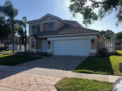 Sunrise Single Family Home For Sale: 13777 NW 22nd St