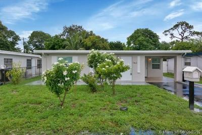 Fort Lauderdale Single Family Home For Sale: 1160 SW 24th Ave