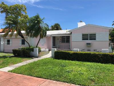 Miami Beach Single Family Home For Sale: 5515 La Gorce Dr