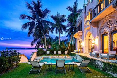 Bal Harbour, Bay Harbor Islands, Coconut Grove, Coral Gables, Hallandale, Miami, Miami Beach, North Miami Beach, Surfside Single Family Home For Sale: 1840 S Bayshore Ln