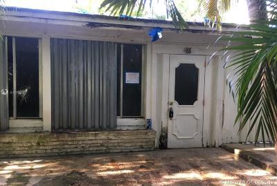 Miami Springs Single Family Home For Sale: 48 Corydon Dr