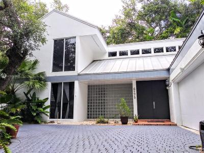 Miami Single Family Home For Sale: 4175 Crawford Ave