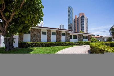 Sunny Isles Beach Single Family Home For Sale: 205 187th St
