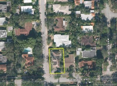 Coral Gables Single Family Home For Sale: 1309 Venetia Ave
