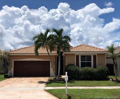 Boynton Beach Single Family Home For Sale: 9530 Verona Lakes Blvd