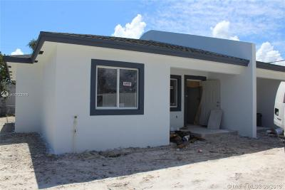 Miami Single Family Home For Sale: 1996 NW 47th St