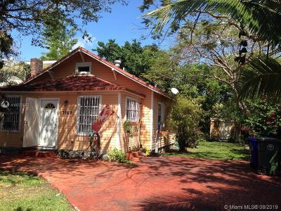 Miami Single Family Home For Sale: 3169 New York St