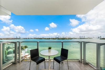 Miami Beach Single Family Home For Sale: 1100 West Ave #716