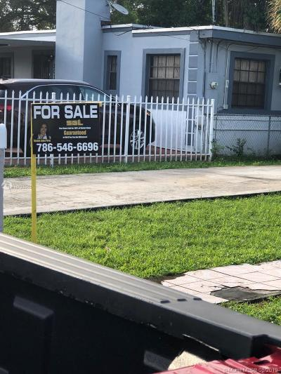 Miami Single Family Home For Sale: 3028 NW 67th St