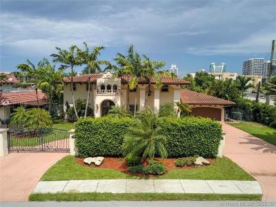 Hallandale Single Family Home For Sale: 900 Diplomat Pkwy