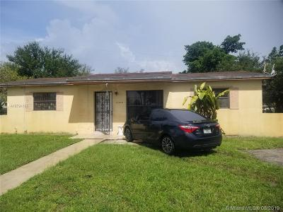 Miami Gardens Single Family Home For Sale: 20400 NW 23rd Ave