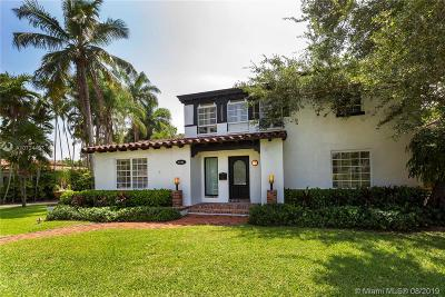 Coral Gables Single Family Home For Sale: 4102 Monserrate St
