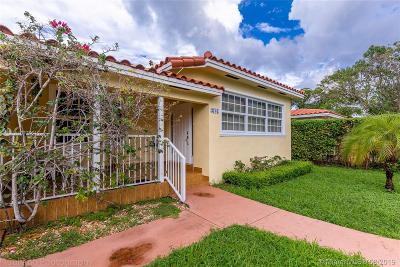 Coral Gables Single Family Home For Sale: 3707 S Le Jeune Rd