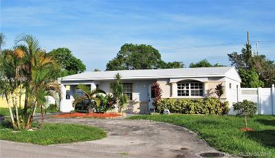 Miramar Single Family Home Active Under Contract: 6551 SW 30th St