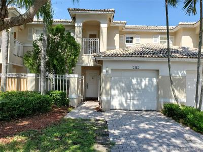 Pembroke Pines Condo/Townhouse For Sale: 2142 NW 171st Ter #2142
