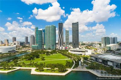 Condo/Townhouse For Sale: 1000 Biscayne Blvd #3001