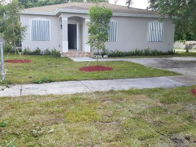 Miami Gardens Single Family Home For Sale: 3361 NW 211th St