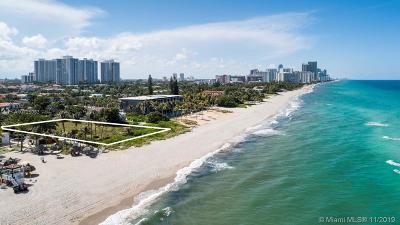 Golden Beach Single Family Home For Sale: 401 Ocean Blvd