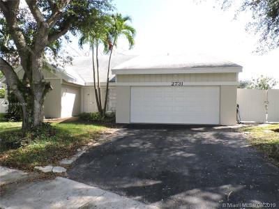 Miramar Single Family Home For Sale: 2731 Devonwood Ave