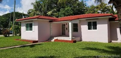 Miami Shores Single Family Home For Sale: 9100 N Miami Ave