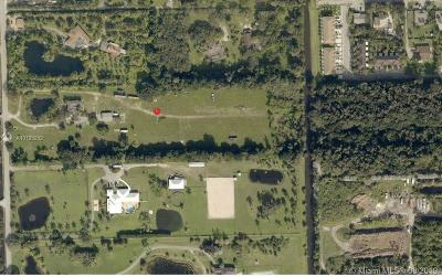 Broward County Residential Lots & Land For Sale: 5020 SW 70th Ave