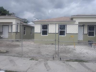Miami Single Family Home For Sale: 1784 NW 63rd St