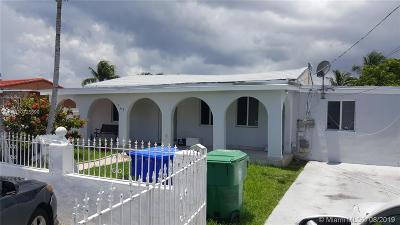 Miami FL Single Family Home For Sale: $430,000