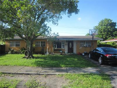 Miami Single Family Home For Sale: 1350 NW 171st St