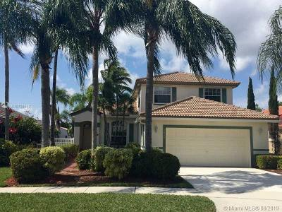 Pembroke Pines Single Family Home For Sale: 2036 NW 182nd Ave