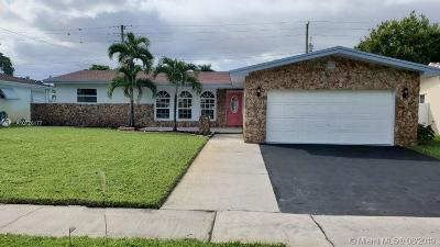 Hollywood Single Family Home For Sale: 811 N Rainbow Dr