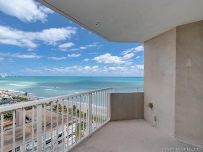 Hallandale Single Family Home For Sale: 1950 S Ocean Dr #11H