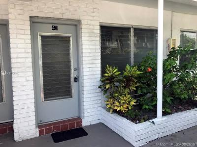 Miami Beach Single Family Home For Sale: 200 76th St #42