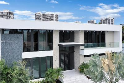 Bal Harbour, Bay Harbor Islands, Coconut Grove, Coral Gables, Hallandale, Miami, Miami Beach, North Miami Beach, Surfside Single Family Home For Sale: 3367 NE 168th St