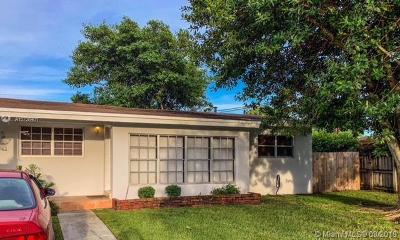 Cutler Bay Single Family Home For Sale: 20705 Dothan Rd