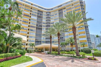Hallandale Beach Condo/Townhouse For Sale: 100 Golden Isles Dr #102