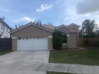 Miami Single Family Home For Sale: 13219 NW 11th Ter