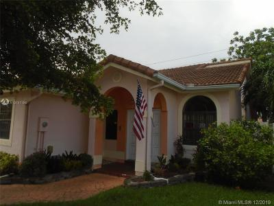 Miami Single Family Home For Sale: 14411 SW 112th Ter