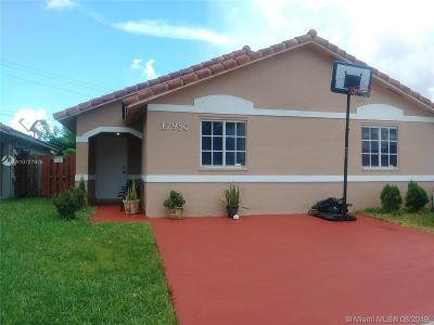 Miami Single Family Home For Sale: 17950 SW 146th Ct