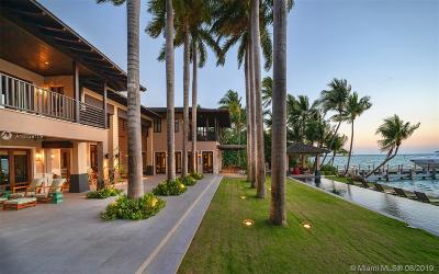 Key Biscayne Single Family Home For Sale: 9 Harbor Pt